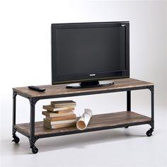banc tv en ch ne massif ch ne naturel aronde les meubles t l les meubles et accessoires. Black Bedroom Furniture Sets. Home Design Ideas