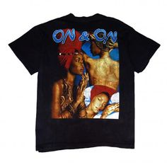 VINTAGE ERYKAH BADU ON AND ON T-SHIRTS - RIGHTSTUFF WebStore