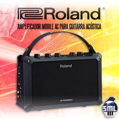 Bom dia! Instrumentos musicais e equipamentos Roland, encontra no Salão Musical de Lisboa. Veja este amplificador aqui. http://www.salaomusical.com/pt/amplificadores/2516-amplificador-roland-mobile-ac-para-guitarra-acustica.html