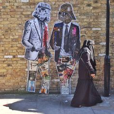 #TheForceIsStrong in #Shoreditch  #Fugetaboutit  by stikki_peaches http://ift.tt/1Id6772