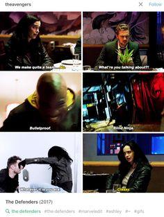 The Defenders - Jessica Jones, Iron Fist, Luke Cage, Matt Murdock/Daredevil