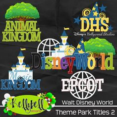 Kelly Bell Designs may have the best Disney themed kits out there, also check out her blog for sweet freebies.