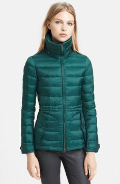 Burberry Brit 'Roosby' Goose Down Jacket