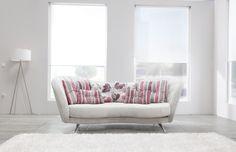 Sofa Fama, Home Sofa, Love Seat, Couch, Elegant, Furniture, Flowers, Design, Home Decor