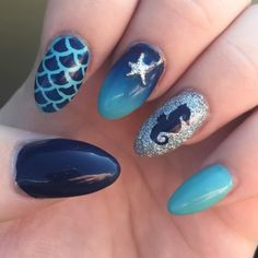 ocean nail art designs 2016 https://www.facebook.com/shorthaircutstyles/posts/1760243220932784