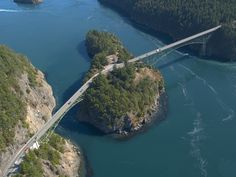Deception Pass - between Whidbey Island and Anacortes, WA
