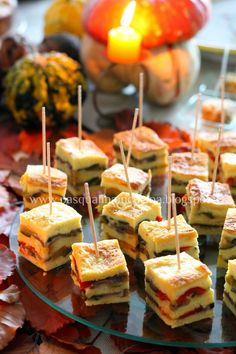 Appetizer Sandwiches, Party Sandwiches, Raw Food Recipes, Gourmet Recipes, Cooking Recipes, Cena Light, Catering, Party Buffet, Food Tasting