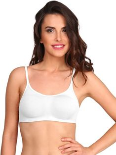 20f0ac9aeaec2 NEW BRANDED JOCKEY WHITE COLOR COTTON SOFT CUP SIZE B BRA LOOK NATURAL  SHAPE  fashion