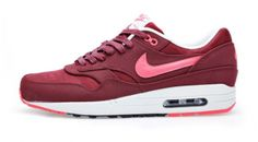 NIke Air Max 1 Premium - Team Red / Atomic Red - Black - Sail    One of my faves from 2013