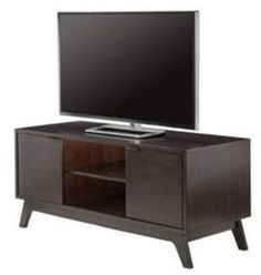 Vintage Style TV Stand Wood Media Entertainment Center Storage Cabinet Wooden