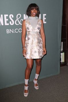 Kelly Rowland Signs Copies of her New Book in NYC And Made Sure to Dress For Attention