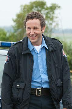 Chris O'Dowd in Bridesmaids. sweet, funny, quirky, Irish man in uniform...so my dream man.