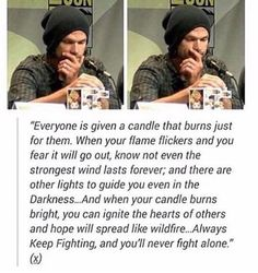 Candles at Comic Con 2015