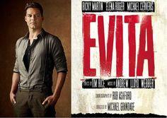 Ricky Martin nel ruolo di Che Guevara nel musical Evita a Broadway. Acquista i biglietti