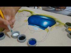 Roberto Ferreira - (Parte 1) Como Pintar Chaleira esmaltada e margaridas. - YouTube Pencil Art Drawings, Home Design Decor, Watercolour Tutorials, Painting Videos, Fabric Painting, Stencils, Youtube, Pattern, Mimosas