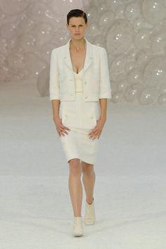 Chanel at Paris Fashion Week Spring 2012 - StyleBistro