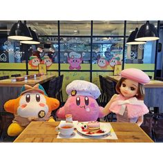 bonjour_liccaI went to KIRBY CAFÉ ! What a lovely place ♡ Kirby surrounds me everywhere !! カービィカフェにいったよ!カービィだらけのかわいい世界ね♡  #カービィカフェ #東京ソラマチ #kirbycafe