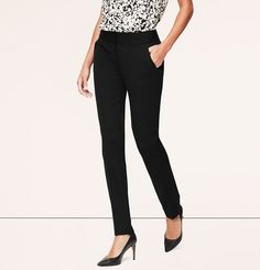 Moto LOFT Bi-Stretch Skinny Pants in Julie Fit | Loft | ($69.50) *not high waisted - need to be hemmed*