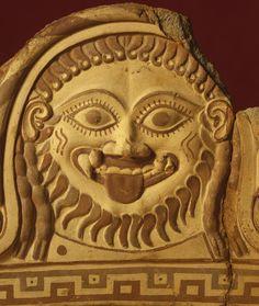 Fragmentary Roof Ornament with Medusa Unknown Etruscan, 550 - 500 BCE Terracotta Ancient Egyptian Art, Ancient Aliens, Ancient Rome, Ancient Greece, Ancient History, European History, Art History, American History, Medusa Gorgon