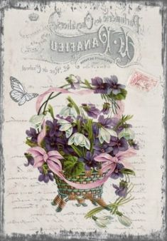 a large collection of new vintage images. Discussion on LiveInternet - Russian Service Online Diaries Vintage Labels, Vintage Cards, Vintage Paper, Vintage Postcards, Decoupage Vintage, Decoupage Paper, Collages D'images, French Typography, Foto Transfer