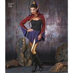 Simplicity Pattern 1138 Misses' Dark Faeries Costumes Costume Patterns, Costume Ideas, Faerie Costume, Fantasy Costumes, Simplicity Patterns, Belly Dance, Faeries, Halloween Costumes, Wonder Woman