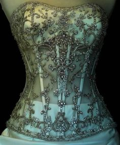 missingsisterstill:    Blinged Out Corset