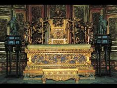 imperial throne inside Taihedian...Changyin Hall Forbidden City