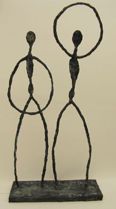 Giacometti helped a freshman in high school create this- Josie Hurst Art Teacher Joy Schultz Sculpture Lessons, Sculpture Projects, Sculpture Art, 3d Art Projects, High School Art Projects, Alberto Giacometti, Polynesian Art, Art Lessons For Kids, Art Courses