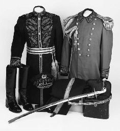 Nepalese senior officers uniform, listed at Christie's auction