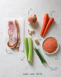The great thing about soups is that you can Lentil And Bacon Soup, Pea And Ham Soup, Lentil Soup Recipes, Veg Soup, Chili Recipes, Beautiful Soup, Soup Kitchen, Winter Soups, Salad Dressing Recipes