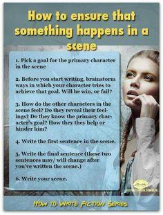 writing a scene