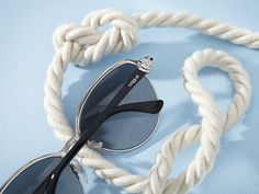 For sailors and land lovers alike, meet Vogue Eyewear's Ocean Knot Collection of sunglasses.