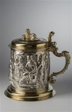 Baroque Tankard with lid