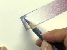 A Blending Technique for Colored Pencils - YouTube