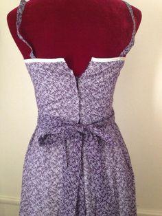 Gorgeous purple Voile corset Gunne Sax.