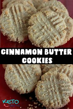 These keto cinnamon butter cookies taste great and are super easy to make. With only 2 net Carbs and of fat these are perfect for low carb high fat diets. I will be sharing more keto friendly cook(Cinnamon Butter Easy) Keto Desserts, Keto Snacks, Dessert Recipes, Dessert Ideas, Cookie Recipes, Dinner Recipes, Simple Dessert, Cookie Ideas, Pasta Recipes