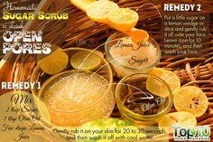 Sugar Scrub for Reducing Large Pores