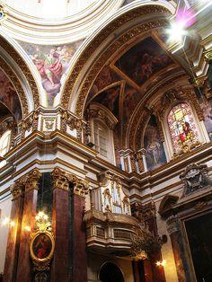 Imtarfa's beautiful dome, Malta