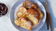 Challah French Toast Recipe : Ina Garten : Food Network
