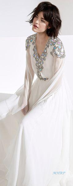 Elven Wedding Dress, Wedding Attire, Beautiful Dresses, Nice Dresses, Amazing Dresses, Mary Margaret Style, Fashion Week 2018, Jenny Packham, Unique Outfits
