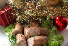 Buniabaje w kuchni: Biała kiełbasa parzona i opiekana w pikantnej marynacie Sausage, Meat, Food, Sausages, Essen, Meals, Yemek, Eten, Chinese Sausage