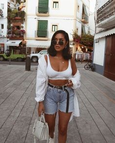 Trendy Outfits For Evening Stylish Clothes - Outfit Ideen Short Outfits, Stylish Outfits, Cool Outfits, Fashion Outfits, Womens Fashion, Stylish Clothes, Sexy Outfits, Girl Fashion, Spring Summer Fashion