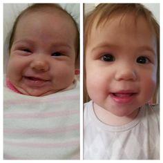 The change in a year #whoa #babyspam #Josephine #notsosmall http://misstagram.com/ipost/1552492830236358383/?code=BWLkADulDbv