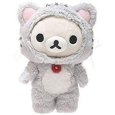 San-X Rilakkuma Korilakkuma Cat Plush Bear Japan Official New Stuffed MP-87401