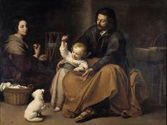 Sagrada Familia del pajarito (Murillo) - Bartolomé Esteban Murillo - Wikipedia, la enciclopedia libre