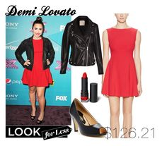 """Demi Lovato.. Look for less"" by ohkally ❤ liked on Polyvore featuring French Connection, POLICE, Pull&Bear, Chase & Chloe and Monki"