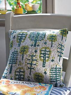 Ravelry: Tundra Cushion pattern by Martin Storey