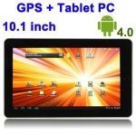 10.1 inch Touch Screen Android 4.0 aPad Style Tablet PC  Support WIFI + GPS -16G