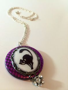 Halloween Necklace by TheCraftyJewel on Etsy