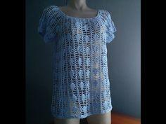Crochet Blusa De Verano Lima - con Ruby Stedman - YouTube